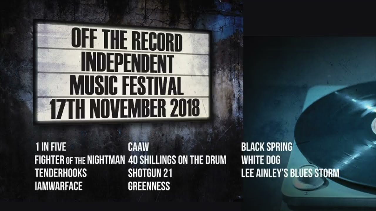 2018 Festival Promo 1: Guitars and a saw? | Off The Record Independent Music Festival