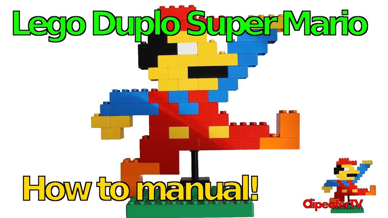 lego duplo super mario stein auf stein einen lego duplo mario bauen youtube