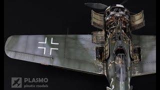 Focke-Wulf Fw-190 A-6 Eduard 1/48 - George Schott - Aircraft Model