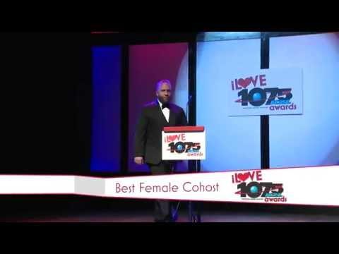 iLOVE 1075 KZL Awards  Best Female CoHost