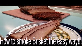 how to smoke a brisket on the grill with charcoal