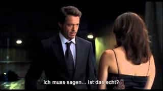 "Robert Downey Jr's Original ""Iron Man"" Screentest (German Subtitles)"