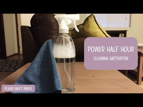 Cleaning Motivation | Power Half Hour | Speed Cleaning