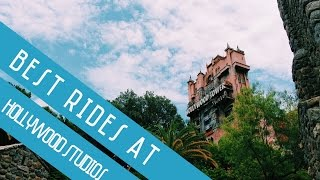 Top 5 Attractions at Hollywood Studios!
