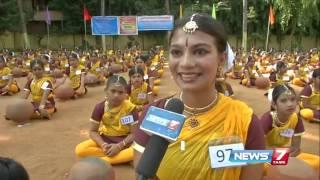 Bharathanatiyam on Pot : Salem students creates record by dancing 6 minutes | News7 Tamil