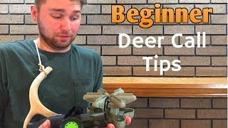 Beginner Deer Calls and How to Use Them