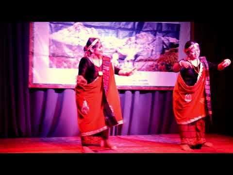 Loshar Program 2017  Manisha & Damchi ||Gurung Samaj Netherlands||