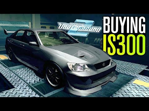 Need for Speed Underground 2 Let's Play - Bought MY LEXUS IS300! (Part 10)