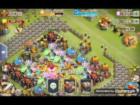 Castle Clash  Making More Space In Your Warehouse.. Organize Your Crests.   Guild: Super.heros