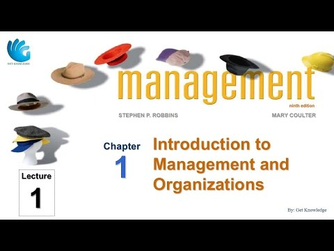 Introduction to Management and Organizations (Lecture 1) | P