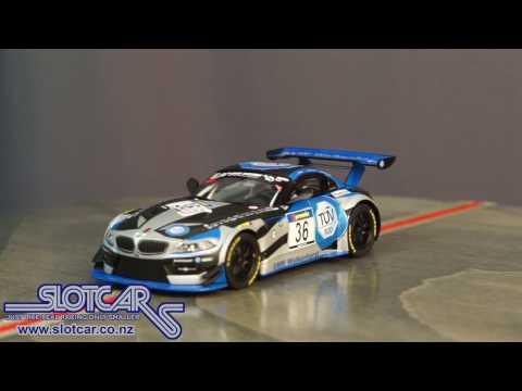 Carrera Slot Car 36 BMW Z4 GT4 Walkenhorst 27479 Slotcar