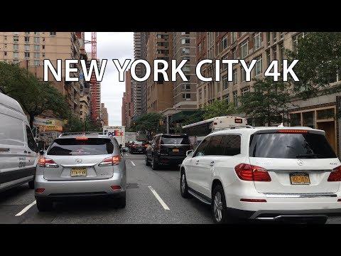 New York City Drive 4K - Rich Upper East Side - USA