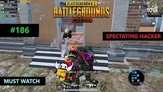 PUBG MOBILE | SPECTATING CHEATER WHO KILLED US WITH AUTO AIM ONE SHOT KILL