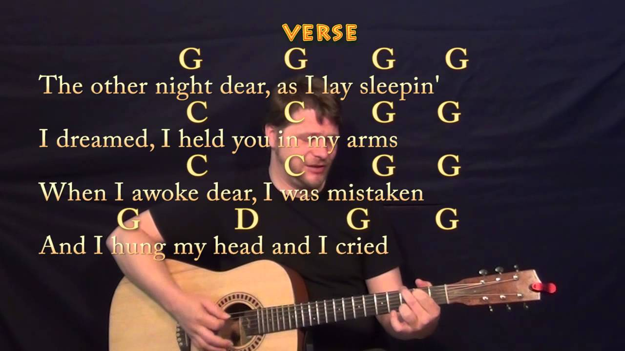 You Are My Sunshine Traditional Guitar Strum Cover Lesson With