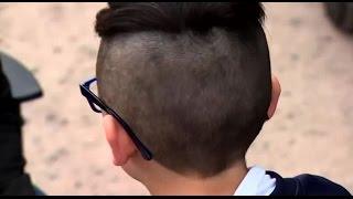 Niño de 9 años tiene prohibición de entrar a colegio debido a su corte de pelo - CHV Noticias
