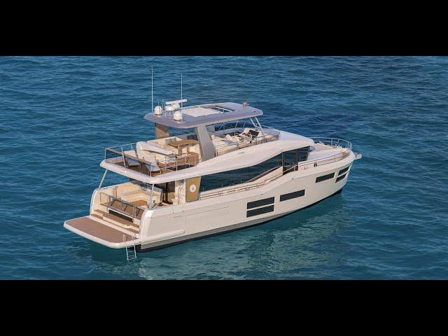 Beneteau Grand Trawler 62 (3D Walkthrough)