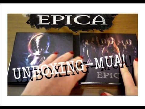 UNBOXING-MUA NEW Epica Album THE HOLOGRAPHIC PRINCIPLE!