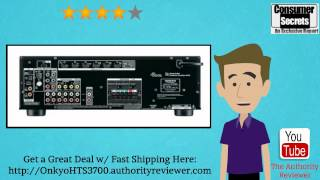 review sale onkyo ht s3700 5 1 channel home theater receiver