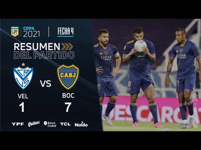 Copa De La Liga | Fecha 4 | resumen de Vélez - Boca