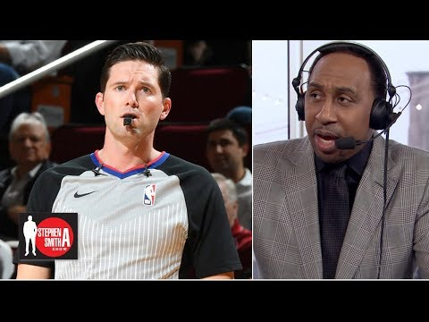 Stephen A. calls out refs from Lakers-Rockets   Stephen A. Smith Show