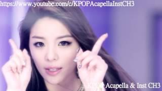 [Acapella] Ailee (에일리) - I will show you (보여줄게)