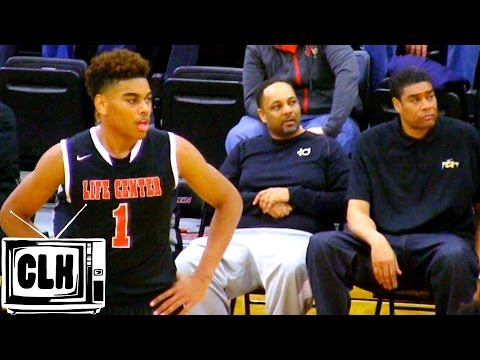 Pervis Ellison's Son HAS GAME - Malik Ellison Senior with Maryland Offer