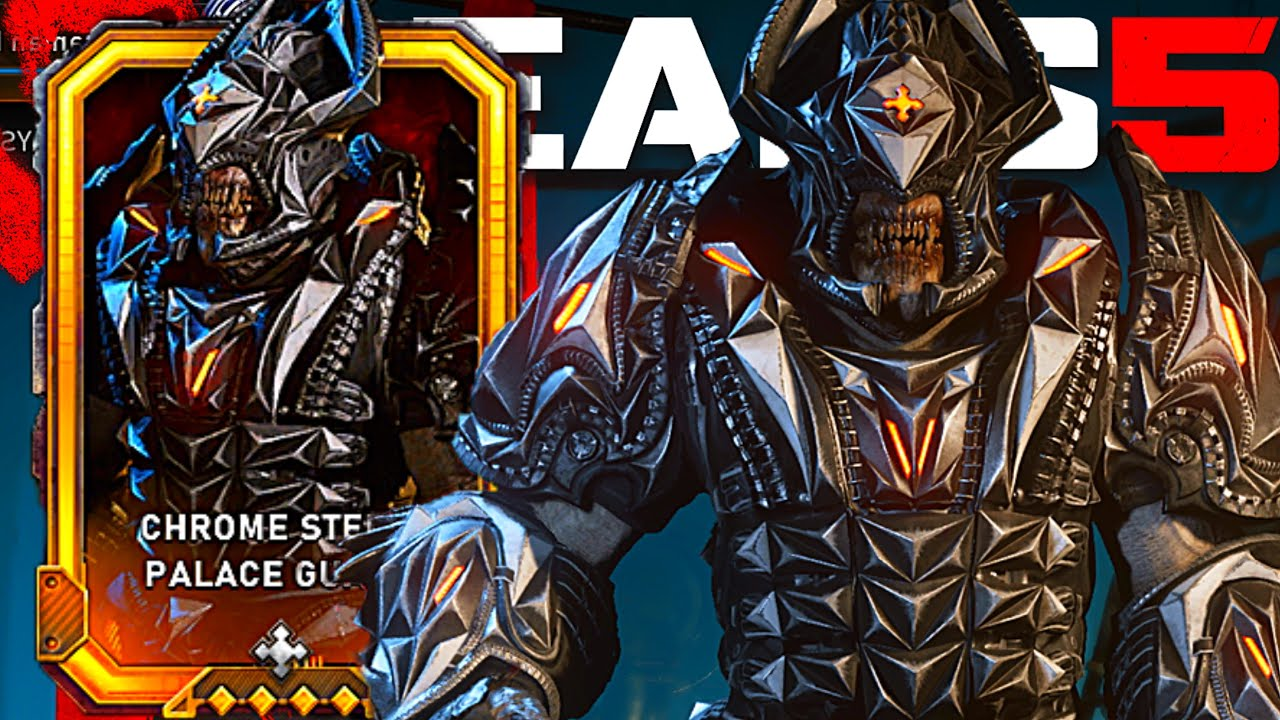 2v2 GNASHERS ONLY RANKED | CHROME STEEL PALACE GUARD | Gears Of War 5 thumbnail