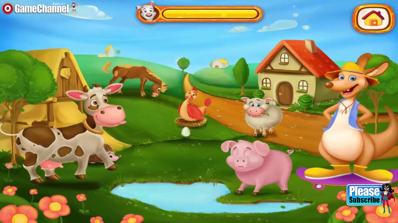 Kids Puzzles Animals Puzzle Education Games Videos