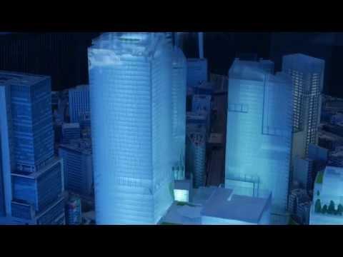 渋谷駅再開発の完成イメージ模型 Future Shibuya Station Miniature