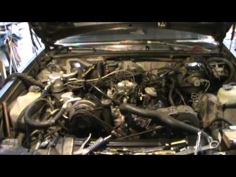 86 Buick Regal 307 Olds Engine