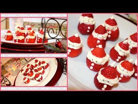 DIY: Santa Strawberry Treat!