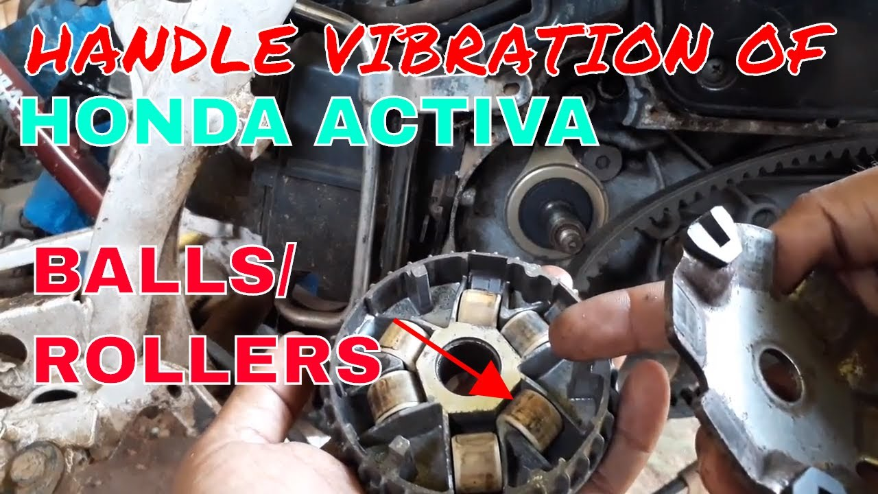 HOW TO FIX HANDLE VIBRATION OF HONDA ACTIVA