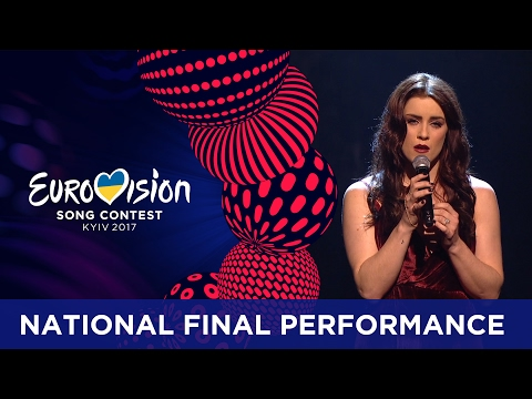 Lucie Jones - Never Give Up On You (United Kingdom) Eurovision 2017 - National Final Performance