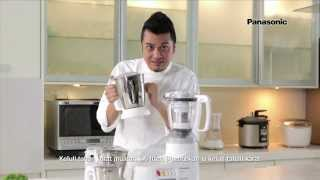 Panasonic Mixer Grinder MX-AC400 (Tips by Dato Fazley Yaakob)
