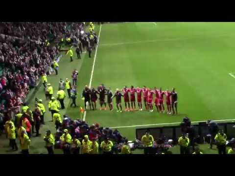 Celtic 1 - Bayern Munich 2 - Fans - Post Match Celebrations - 31 October 2017