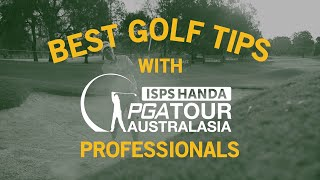 Best Golf Tips with Tour Professionals