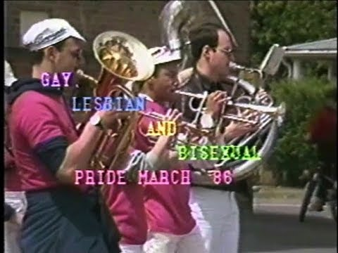 Northampton MA s Gay Pride March 1986 from YouTube · Duration:  15 minutes 46 seconds