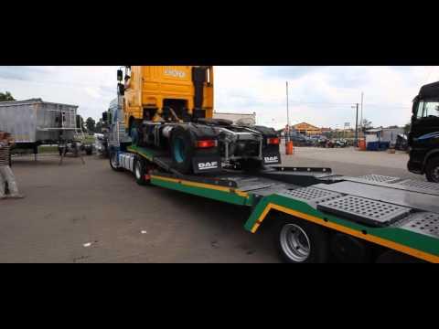 Полуприцеп Бодекс для перевозки грузовых автомобилей