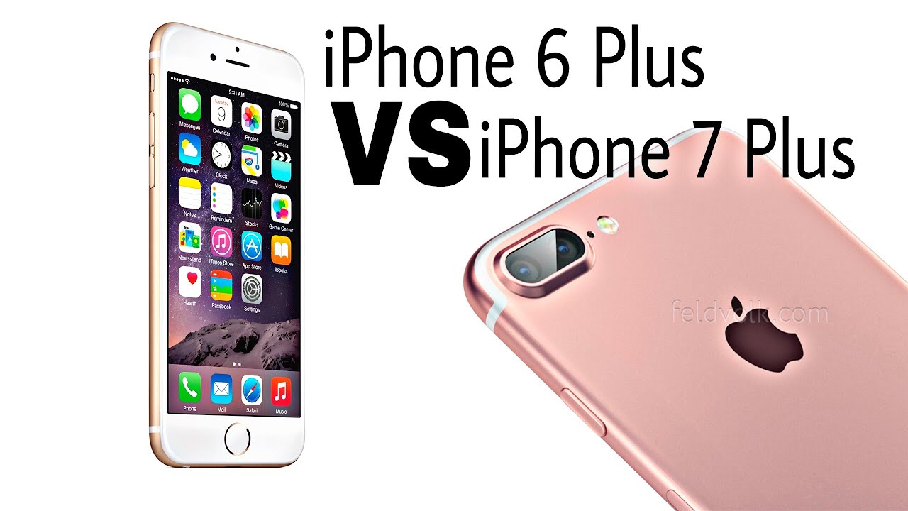 iphone 6 plus vs iphone 7 plus