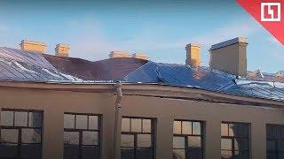 Крыша рухнула в университете ИТМО