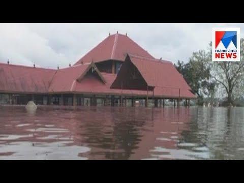 Heavy rain: Aluva manappuram underwater   Manorama News