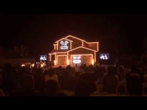 Happy Halloween 2015 Creative LIghting Displays In Riverside, CA   YouTube Nice Design
