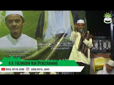 Cermah Lucu Ustad Jambi - K.H. Fachrudin Nur