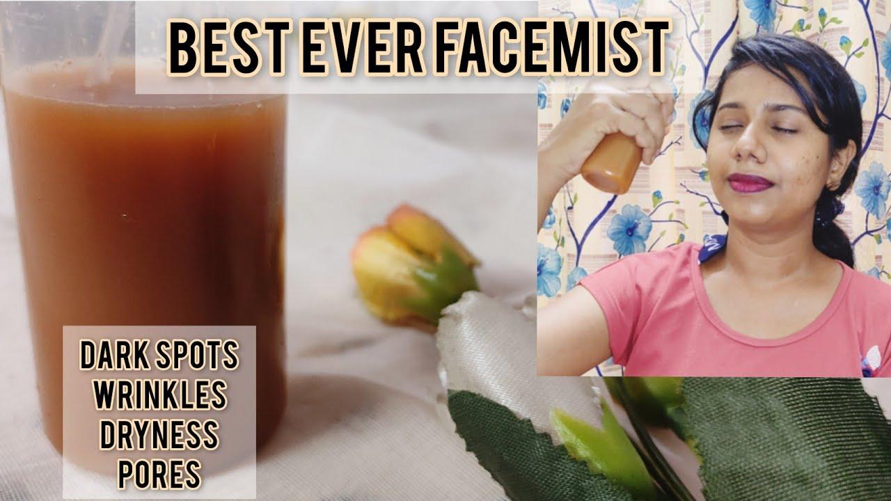 Best Ever Homemade Facial mist|Diy multipurpose facemist|one step skincare| #Skincare #facemist
