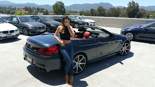 """NEW 2017 BMW M6 Convertible / Exhaust Sound / 20"""" M Wheels / BMW Review"""