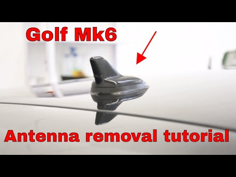 Antenna removal VW Golf mk6