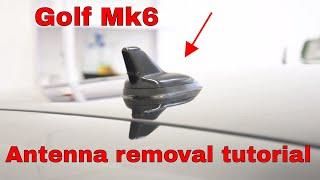Antenna removal VW Golf mk6