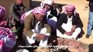 أسرار صناعة القهوة البدوية على رمال صحراء سيناء