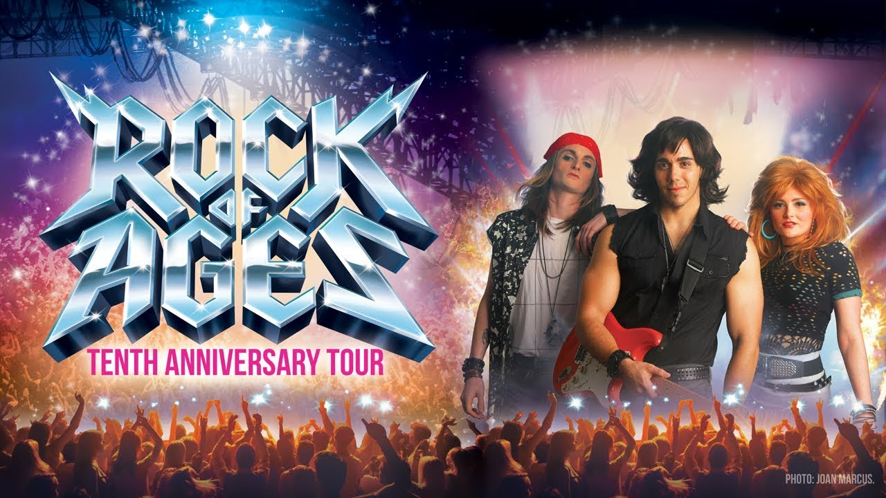 Image result for Rock of Ages Tenth Anniversary Tour Preview (