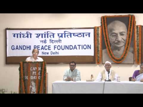 Krishna Nath at Gandhi Peace Foundation 1 of 5